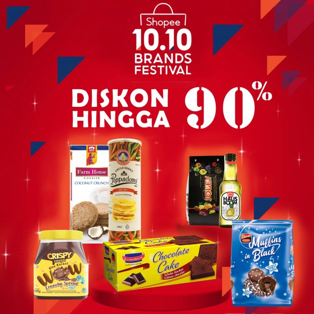 Shopee 10.10 Brands Festival: Diskon Up To 90%